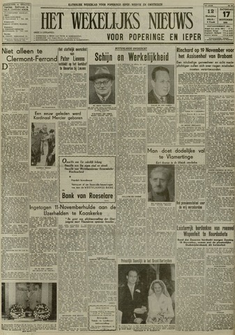 Het Wekelijks Nieuws (1946-1990) 1951-11-17