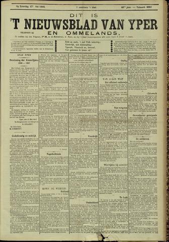 Nieuwsblad van Yperen en van het Arrondissement (1872 - 1912) 1905-05-27