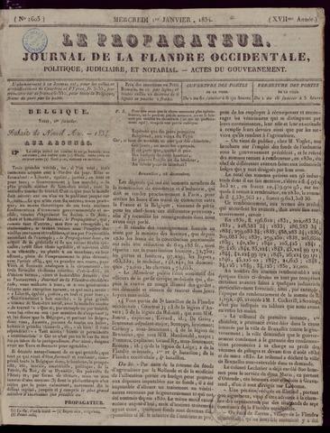 Le Propagateur (1818-1871) 1834