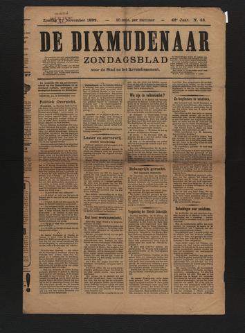 De Dixmudenaar 1892-11-27