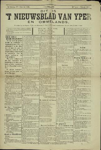 Nieuwsblad van Yperen en van het Arrondissement (1872 - 1912) 1898-12-17