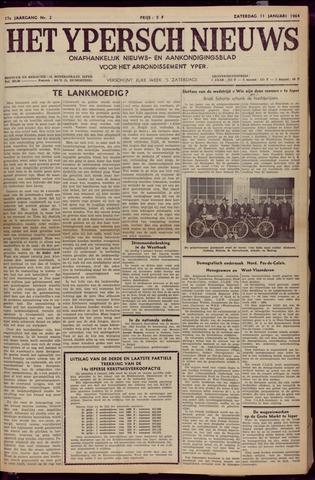 Het Ypersch nieuws (1929-1971) 1964-01-11
