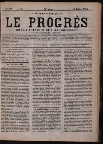 Le Progrès (1841-1914) 1880-07-08