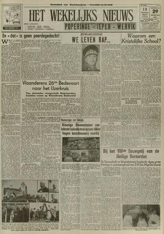 Het Wekelijks Nieuws (1946-1990) 1953-08-29