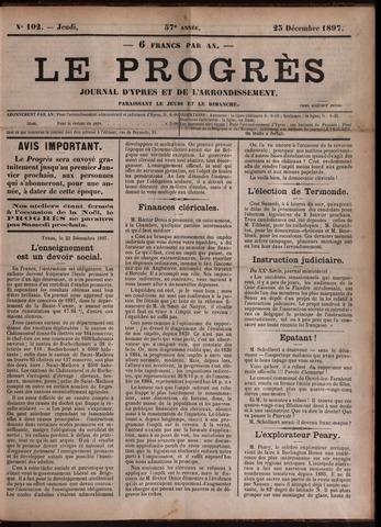 Le Progrès (1841-1914) 1897-12-23