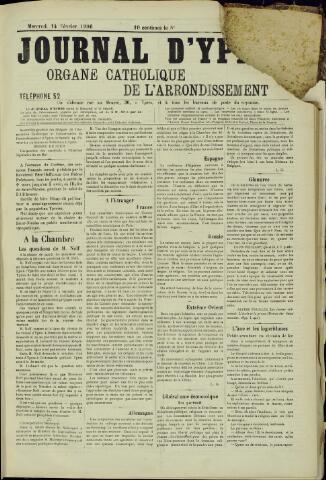 Journal d'Ypres (1874 - 1913) 1906-02-14