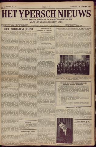 Het Ypersch nieuws (1929-1971) 1961-02-18