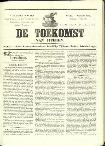 De Toekomst (1862 - 1894) 1870-07-03