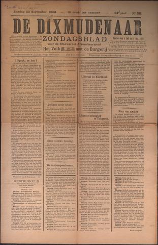 De Dixmudenaar 1909-09-20