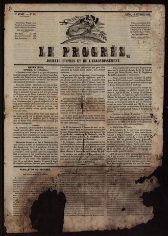 Le Progrès (1841-1914) 1841-10-14