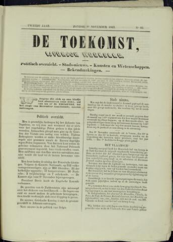 De Toekomst (1862 - 1894) 1863-11-08