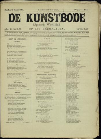 De Kunstbode (1880 - 1883) 1881-03-13