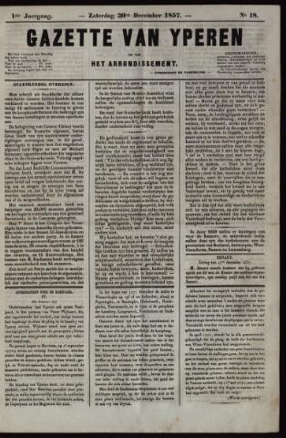 Gazette van Yperen (1857-1862) 1857-12-26