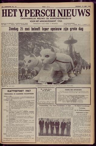 Het Ypersch nieuws (1929-1971) 1967-05-19
