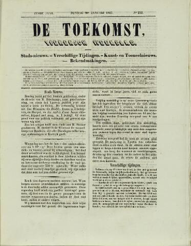 De Toekomst (1862 - 1894) 1867-01-20