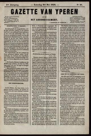 Gazette van Yperen (1857-1862) 1858-05-08