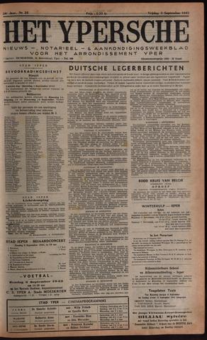 Het Ypersch nieuws (1929-1971) 1943-09-03