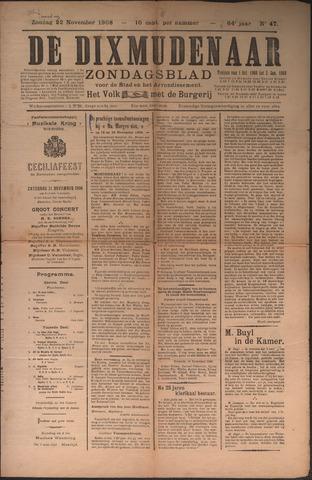 De Dixmudenaar 1908-11-22