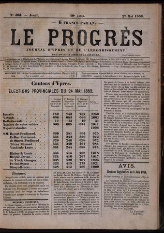 Le Progrès (1841-1914) 1880-05-27