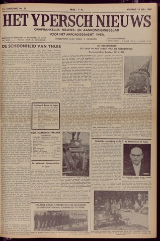 Het Ypersch nieuws (1929-1971) 1968-07-19