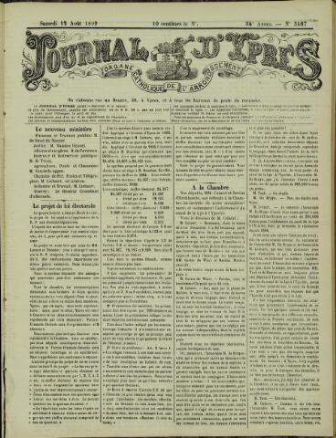 Journal d'Ypres (1874 - 1913) 1899-08-12