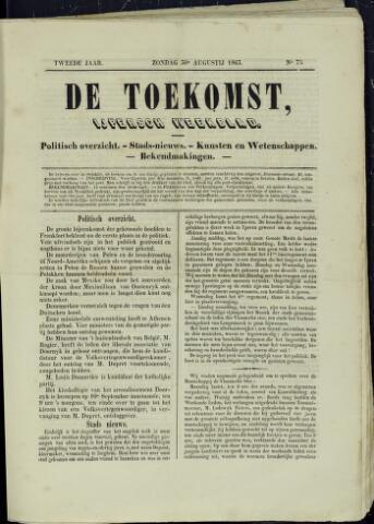 De Toekomst (1862 - 1894) 1863-08-30