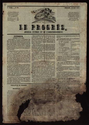 Le Progrès (1841-1914) 1841-08-22