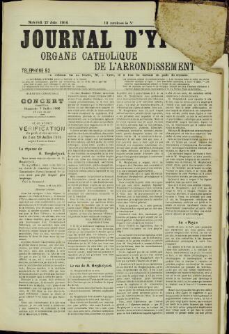 Journal d'Ypres (1874 - 1913) 1906-07-27
