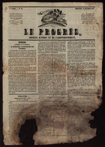 Le Progrès (1841-1914) 1841-10-24
