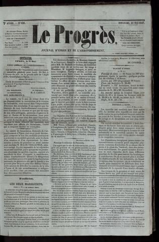 Le Progrès (1841-1914) 1847-05-23