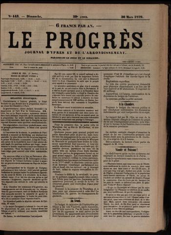 Le Progrès (1841-1914) 1879-03-30