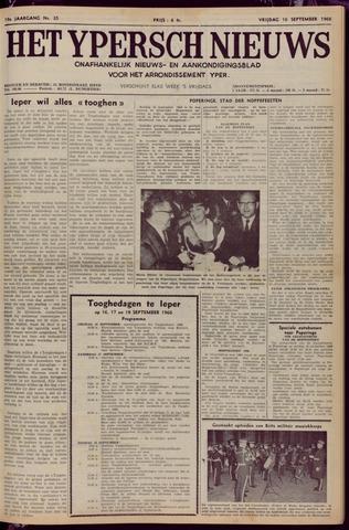 Het Ypersch nieuws (1929-1971) 1966-09-16