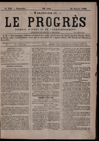 Le Progrès (1841-1914) 1880-01-25