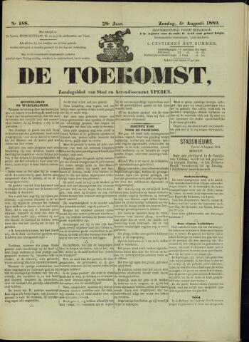 De Toekomst (1862 - 1894) 1889-08-04