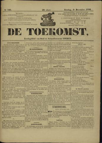 De Toekomst (1862 - 1894) 1889-12-01