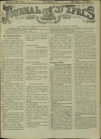 Journal d'Ypres (1874 - 1913) 1897-05-04