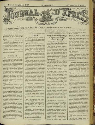 Journal d'Ypres (1874 - 1913) 1897-09-08