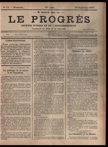 Le Progrès (1841-1914) 1897-09-19