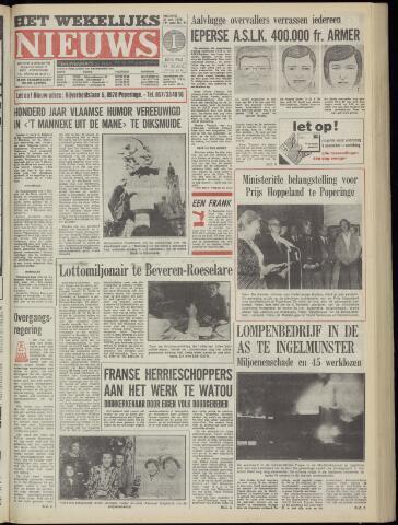 Het Wekelijks Nieuws (1946-1990) 1978-10-27