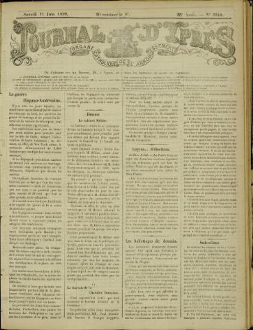 Journal d'Ypres (1874 - 1913) 1898-06-11