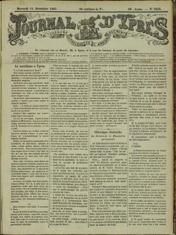 Journal d'Ypres (1874 - 1913) 1895-12-11