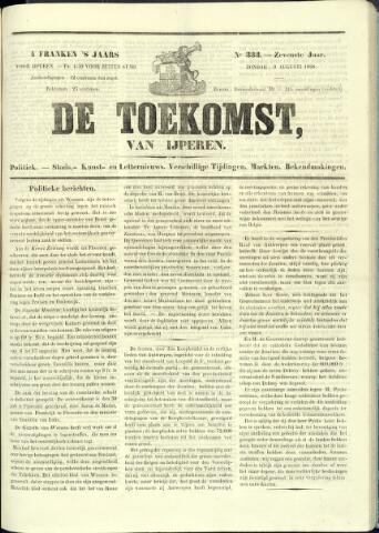 De Toekomst (1862 - 1894) 1868-08-09