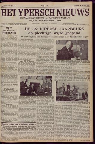 Het Ypersch nieuws (1929-1971) 1966-04-08