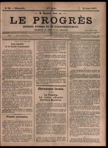 Le Progrès (1841-1914) 1897-08-15