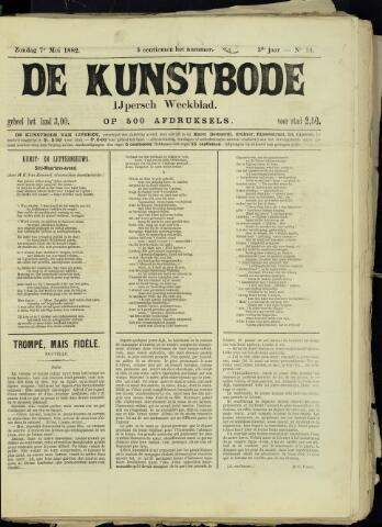 De Kunstbode (1880 - 1883) 1882-05-07