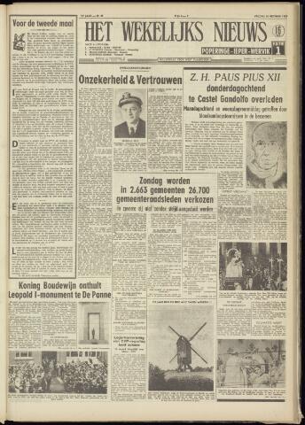 Het Wekelijks Nieuws (1946-1990) 1958-10-10