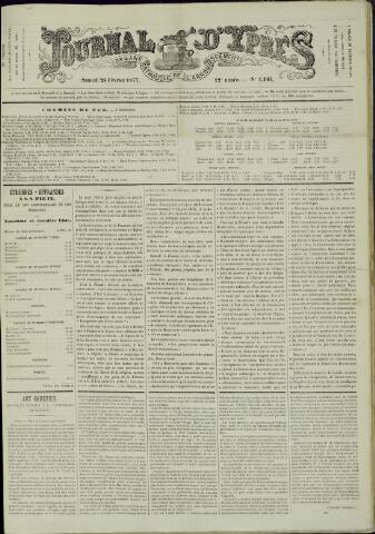 Journal d'Ypres (1874 - 1913) 1877-02-24