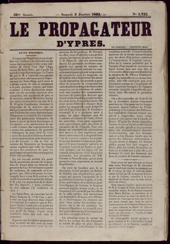 Le Propagateur (1818-1871) 1863
