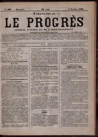 Le Progrès (1841-1914) 1880-10-03