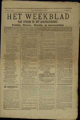 Het weekblad van Ijperen (1886 - 1906) 1894-01-06